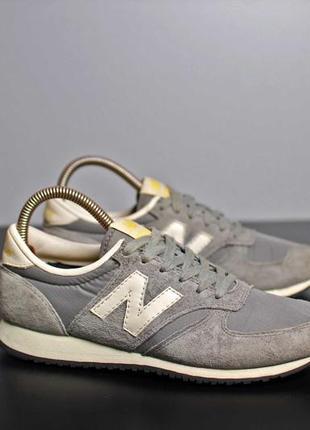 Очень крутые кроссы new balance 420 38 (23.5 см)1