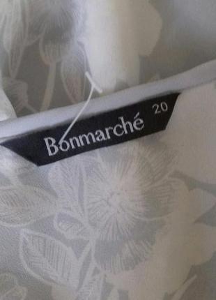 Нежная блуза с принтом большого размера5