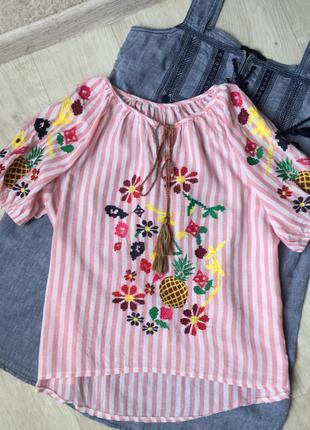 Красивая блуза вышиванка2 фото