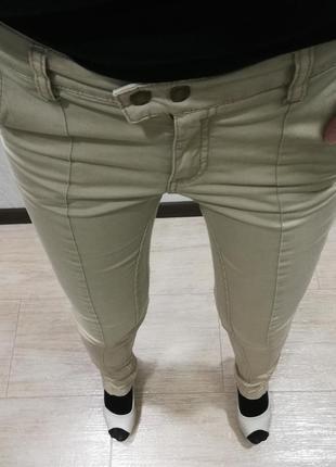 Бежевые брюки h&m5