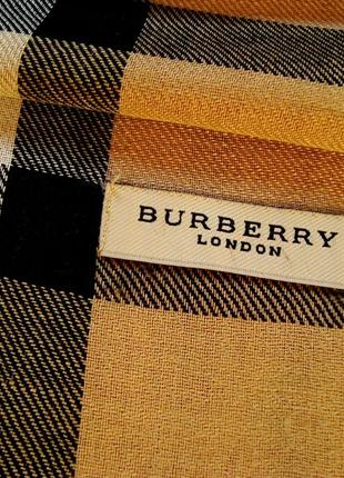 Burberry london, шарф, оригинал.5 фото