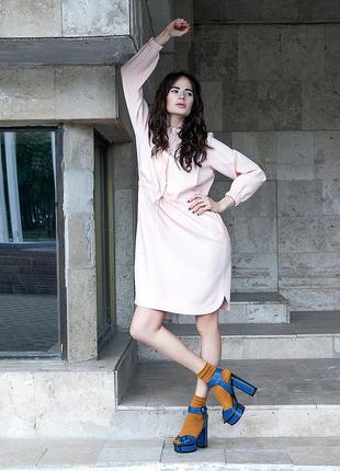 Льняное платье1