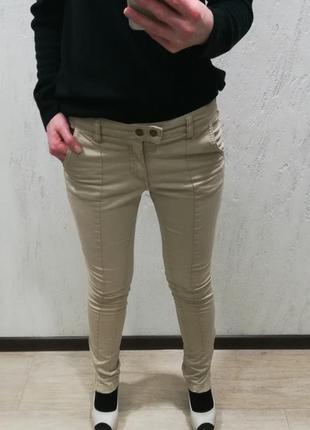 Бежевые брюки h&m2