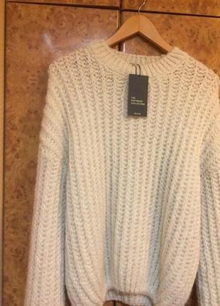 Объемный свитер оверсайз oversize с широкими рукавами новый dilvin5