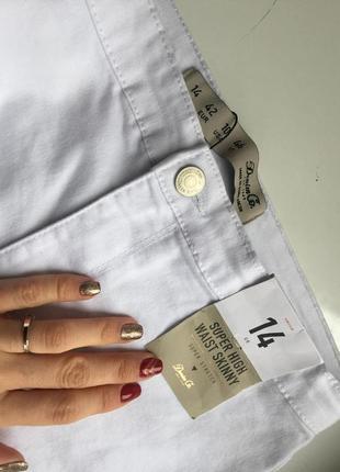 Стильные скини джинсы  с высокой посадкой skiny 143 фото