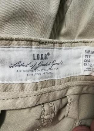 Бежевые брюки h&m7