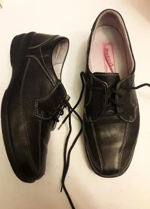 Medicus шкіряні туфлі2
