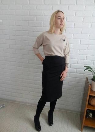 Костюм с юбкой и футболкой#молодежный костюм