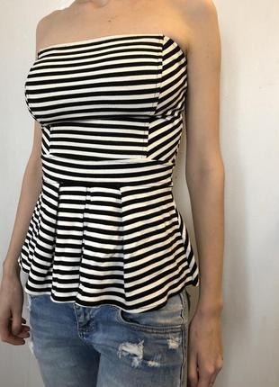 Блуза блузка полосатая в полоску1