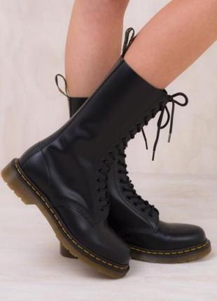 Ботинки кожаные dr. martens 1914 black5