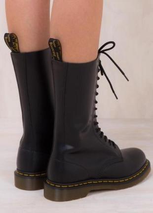 Ботинки кожаные dr. martens 1914 black6