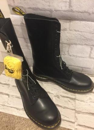 Ботинки кожаные dr. martens 1914 black8