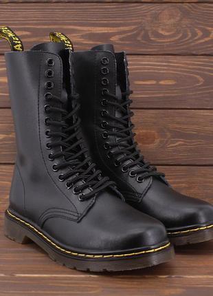 Ботинки кожаные dr. martens 1914 black3