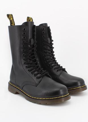 Ботинки кожаные dr. martens 1914 black2