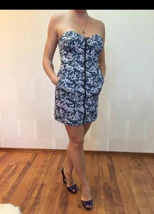 Платье, джинс на змейке2