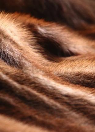 Старая норковая шуба в нормальном состоянии; коричневая короткая норковая шубка4 фото