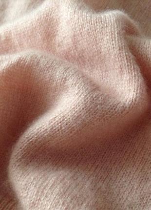 Шерстяной комфортный свитер. xl(пог-65). кашемир & шерсть.2