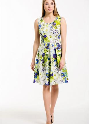 Красивое яркое платье1
