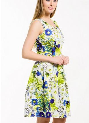 Красивое яркое платье2