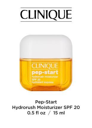 Увлажняющий крем clinigue pep-start™ spf 20 hydrorush moisturizer1