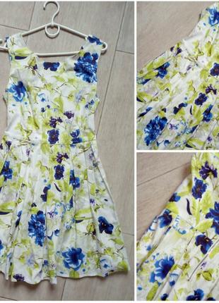 Красивое яркое платье4