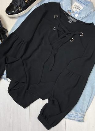 Блуза с завязочками2