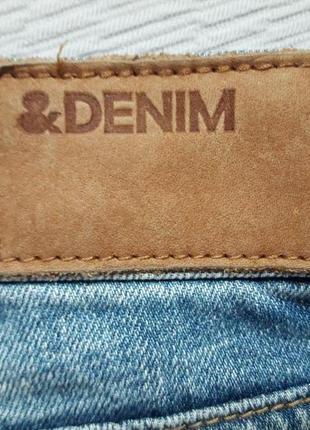 Суперовые рваные джинсовые шорты с карманами denim h&m5 фото