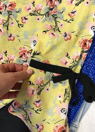 Блуза в цветочный принт3