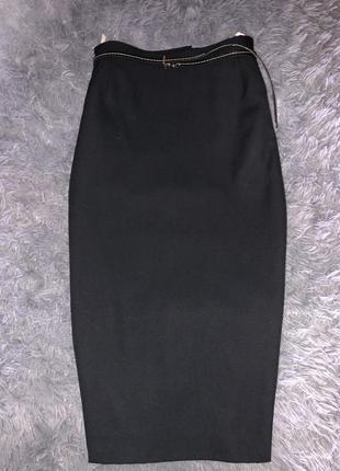 Чёрная юбка.стильная1