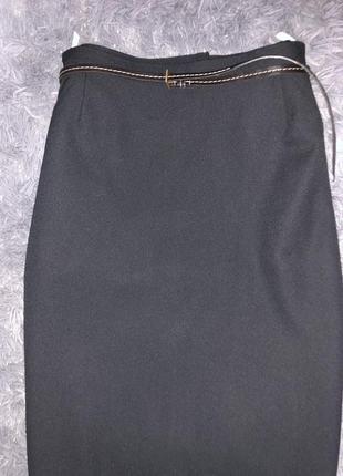 Чёрная юбка.стильная3