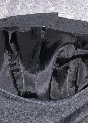 Чёрная юбка.стильная7