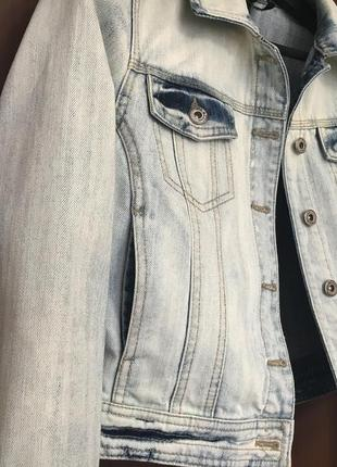 Куртка котонка vila m джинсовый пиджак женский2