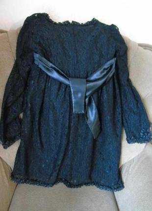 Наряднон гипюровое платье р xs-s4 фото