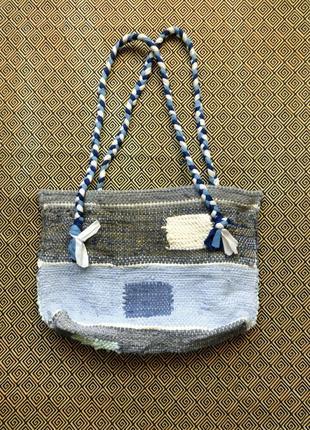 Тканая сумка в этно стиле бохо ручной работы от мастерской коза дереза1