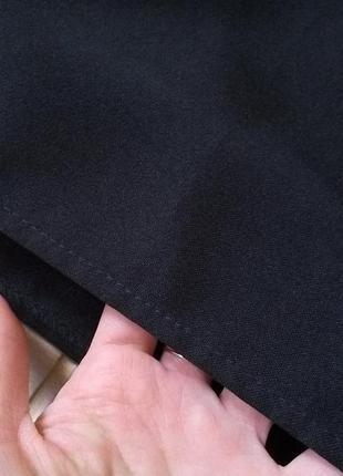 Базовая юбка солнце клеш со складками с высокой талией на замочке р. xs s5