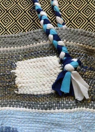 Тканая сумка в этно стиле бохо ручной работы от мастерской коза дереза2