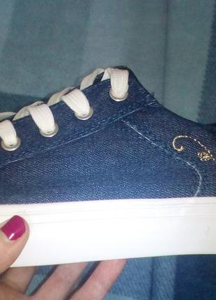 Кеды джинсовые2 фото