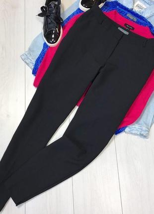 Чёрные штаны классические1