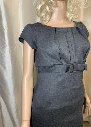 Симпатичное базовое плотное трикотажное платье по фигуре6