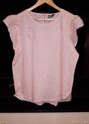 Красивая блузка с воланами c&a раз.xxl