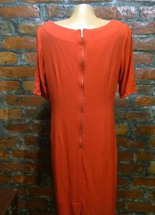 Платье футляр прямого силуэта с драпировкой marks & spencer2 фото