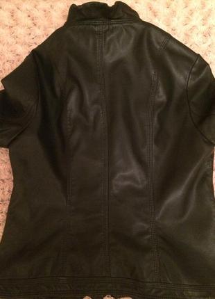 Классная курточка эко кожа2 фото