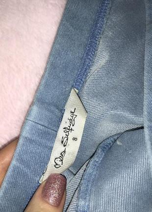 Джинсовая юбка2