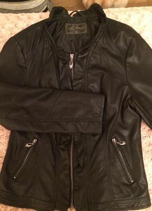 Классная курточка эко кожа3 фото