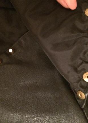 Классная курточка эко кожа7 фото