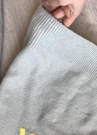 Стильный теплый свитер с надписью3