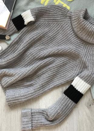 Стильный свитер / тёплый гольф4