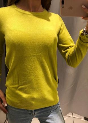 Зелёный флисовый свитерок мягенький джемпер пуловер reserved есть размеры1