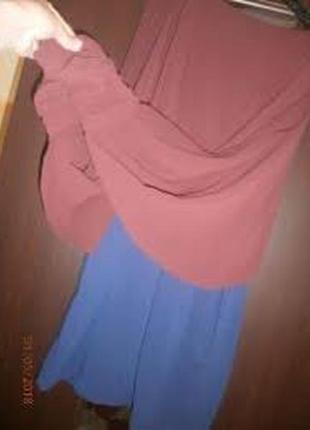 Продам крутое модное шифоновое платье 44-46р1 фото