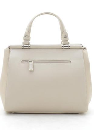 Новая бежевая женская сумка3